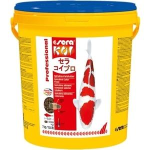Корм SERA Professional KOI Spirulina Color Food чипсы для усиления окраса кои 7кг корм tetra tetramin xl flakes complete food for larger tropical fish крупные хлопья для больших тропических рыб 10л 769946