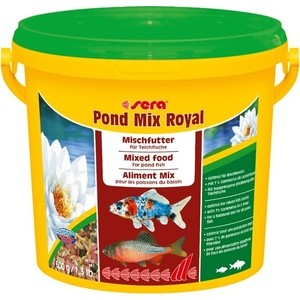 Корм SERA POND MIX ROYAL Mix Food for Pond Fish смесь для прудовых рыб 3,8л (600г) 1000g 98% fish collagen powder high purity for functional food