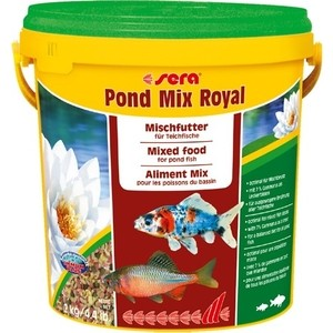 Корм SERA POND MIX ROYAL Mix Food for Pond Fish смесь для прудовых рыб 10л (2кг) 1000g 98% fish collagen powder high purity for functional food
