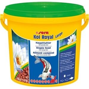 Корм SERA KOI ROYAL LARGE Staple Food for Large Koi гранулы для крупных кои 3,8л (700г) корм tetra tetramin xl flakes complete food for larger tropical fish крупные хлопья для больших тропических рыб 10л 769946