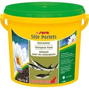 Корм SERA STOR PERLETS Sturgeon Food гранулы для осетров 3,8л (2кг)