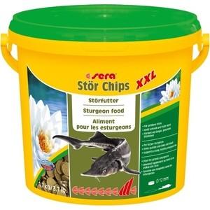 Корм SERA STOR CHIPS XXL Sturgeon Food чипсы для осетров 3,8л (1,7кг)