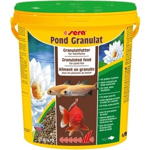 Корм SERA POND GRANULAT Granulated Food for Pond Fish палочки для прудовых рыб 21л (2,8кг) 1000g 98% fish collagen powder high purity for functional food