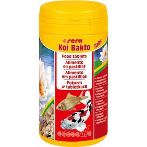 Корм SERA KOI BAKTO TABS Food Tablets for Wellness of all Pond Fish таблетки лечебные для всех прудовых рыб 500мл (340г)
