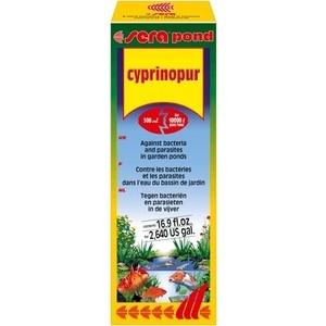 Средство SERA POND CYPRINOPUR Against Bacteria and Parasites in Garden Pond против бактерий и паразитов в пруду 500мл