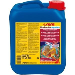 Кондиционер SERA BLACKWATER AQUATAN Water Conditioner with Blackwater Effect с эффектом черной воды для воды в аквариумах 5л средство для воды sera baktopur direct 24 таблетки