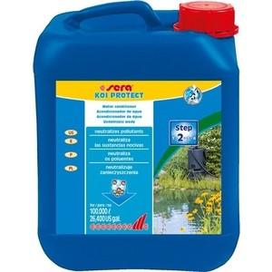 Кондиционер SERA KOI PROTECT Water Conditioner для подготовки воды в пруду 5л средство для воды sera baktopur direct 24 таблетки