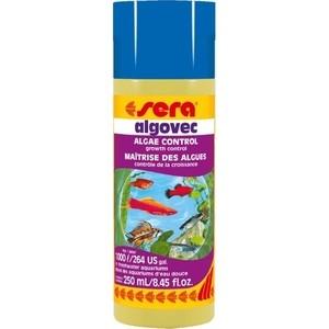 Препарат SERA ALGOVEC Algae Control Growth контроль роста водорослей для воды в аквариуме 250мл средство для воды sera baktopur direct 24 таблетки