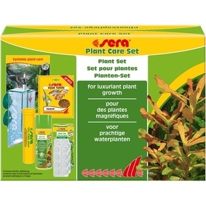 Препарат SERA PLANT CARE SET plant Set for Luxuriant Plant Growth набор препаратов для ухода за растениями в аквариуме 5pcs lot 108w ip65 waterproof led aquarium light bar strip lamp for salt freshwater reef coral growth plant fish tank lighting