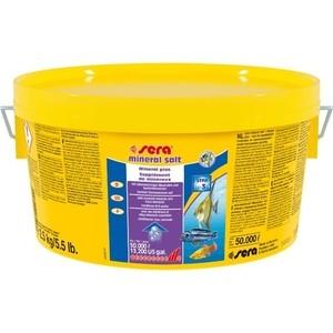 Препарат SERA MINERAL SALT Mineral Plus обогащения воды минералами для аквариума 2,5кг
