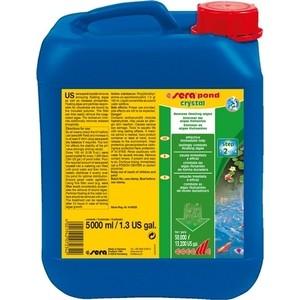 Препарат SERA POND CRYSTAL Remove Floating Algae для удаление плавающих ворослей в пруду 5л средство для воды sera baktopur direct 24 таблетки