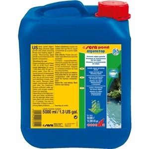 Препарат SERA POND ALGEN STOP Prevent Algae Growth для предотвращения роста водорослей 5л средство для воды sera baktopur direct 24 таблетки