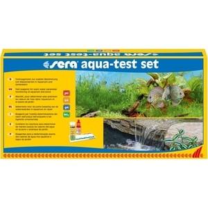 где купить Тест SERA AQUA-TEST-SET набор тестов для определения содержания pH, KH, gH, NO2 в пресной воде по лучшей цене