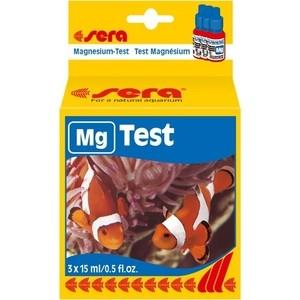 Тест SERA Mg-Test для определения содержания уровня магния в морской воде 15мл тест sera ph тест для воды 15 мл