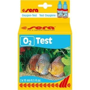 Тест SERA O2-Test для определения содержания уровня кислорода в пресной воде 15мл тест sera ph тест для воды 15 мл