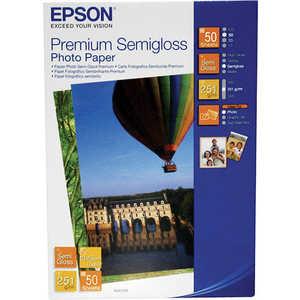 Epson Premium Semiglossy Photo бумага 10 x 15, 251 г/м2, 50 листов (C13S041765)