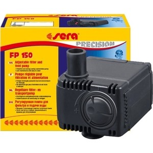 Помпа SERA PRECISION Adjustable Filter and Feed Pump FP 150 погружная для аквариумов помпа sera precision adjustable filter and feed pump fp 1000 погружная для аквариумов