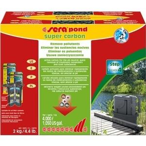 Наполнитель SERA POND SUPER CARBON активированный уголь для аквариумов и прудов 2кг
