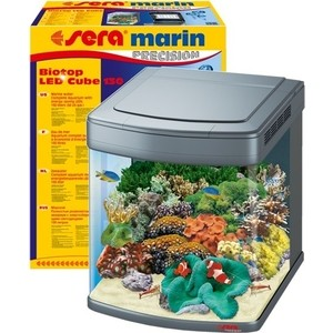 Аквариумный комплекс SERA MARIN PRECISION BIOTOP LED CUBE 130 с LED освещением 130л аквариум на 600 1000 литров с рук