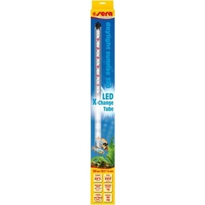 Лампа SERA PRECISION LED Daylight Sunrise светодиодная 16Вт 20В 52см для аквариумов лампа sera precision led plantcolor sunrise светодиодная 13вт 20в 96 5см для аквариумов