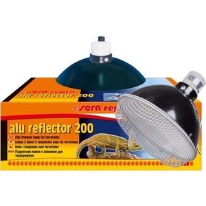 Рефлектор SERA PRECISION Alu Reflector 200 для ламп для терратиумов аквариумный нагреватель sera precision 200 вт