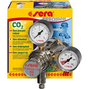 Редуктор SERA PRECISION CO2 Flore Pressure Reduser для баллонов с газом 0 1kpa micro differential pressure gauge te2000 high precision 1 8 npt air pressure meter barometer best sale