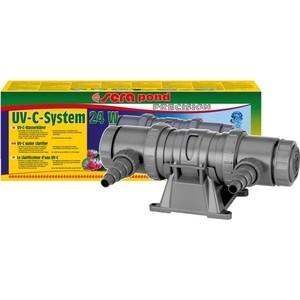 УФ-очиститель SERA PRECISION UV-C System 24w UV-C Water Clarifier для воды в аквариуме 24Вт средство для воды sera baktopur direct 24 таблетки