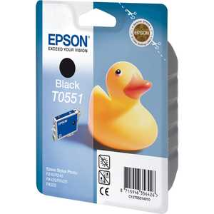 Картридж Epson Black Stylus Photo R240/RX520 (C13T05514010) снпч epson stylus dx5050