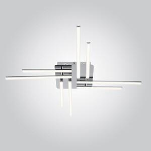 Потолочный светодиодный светильник Eurosvet 90040/8 хром потолочный светодиодный светильник eurosvet хай тек 90020 8 хром