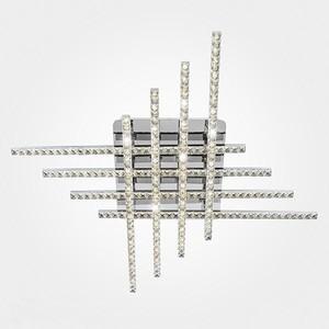 Потолочный светодиодный светильник Eurosvet 90041/8 хром потолочный светодиодный светильник eurosvet хай тек 90020 8 хром