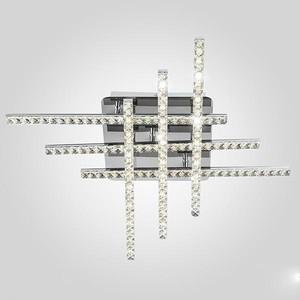 Потолочный светодиодный светильник Eurosvet 90041/6 хром потолочный светодиодный светильник eurosvet хай тек 90020 8 хром