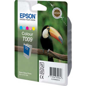 Картридж Epson Color Stylus Photo 1270/1290 (C13T00940110) картридж c13t00940210 epson 2хc13t009401 для stylus photo 1270 1290 900 цветной c13t00940210