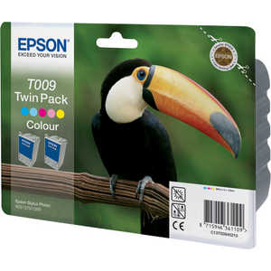 Картридж Epson Color Stylus Photo 1270/1290 Multipack (C13T00940210) картридж c13t00940210 epson 2хc13t009401 для stylus photo 1270 1290 900 цветной c13t00940210