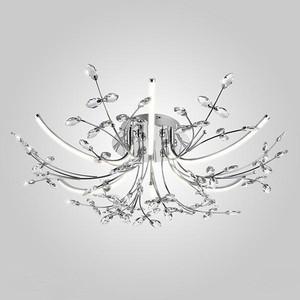 Потолочная светодиодная люстра Eurosvet 90037/6 хром