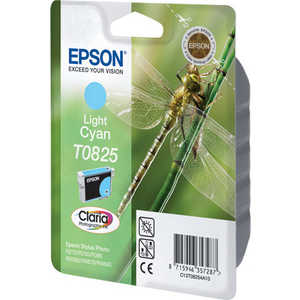 Картридж Epson Light Cyan Stylus Photo R270/R290/RX590 (C13T11254A10) картридж для мфу epson c13t11154a t08154 light cyan