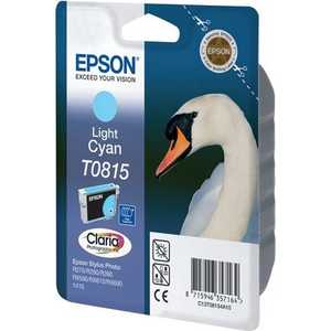 Картридж Epson Light Cyan Stylus Photo R270/R290/RX590 High (C13T11154A10) 6 color refillable inkjet cartridge for epson r270 r290 more