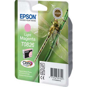 Картридж Epson Light Magenta Stylus Photo R270/R290/RX590 (C13T11264A10) epson c13t15764010 light magenta