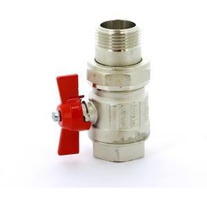 Кран ITAP шаровый IDEAL 1 НР/ВР с разъемным соединением (098 1') кран itap шаровый ideal угловой 1 нр вр с разъемным соединением 298 1