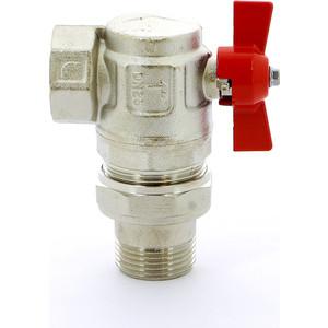 Кран ITAP шаровый IDEAL угловой 1 НР/ВР с разъемным соединением (298 1') кран itap шаровый ideal угловой 1 нр вр с разъемным соединением 298 1