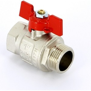 Кран Uni-Fitt шаровый ETALON 1 НР/ВР (111T4000) uni t ut202a 1 4 lcd digital clamp multimeter red grey 1 x 9v 6f22