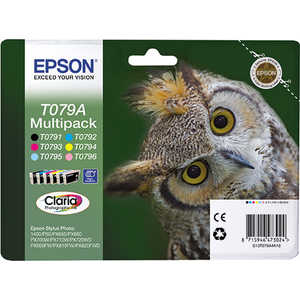 Картридж Epson T079A MultiPack (C13T079A4A10) f192040 printhead print head for epson artisan 710 730 810 730 px800fw tx800fw px810fw px700w tx700w px710w tx710w px720wd