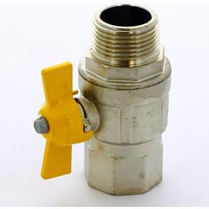 Кран ITAP шаровый LONDON газовый 1 НР/ВР (069 1') кран bugatti шаровый угловой oregon 594 1 вр нр с разъемным соединением 5940009
