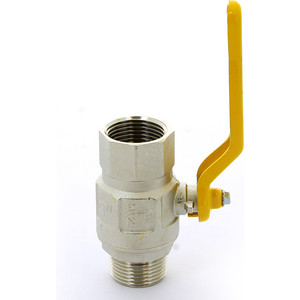 Кран ITAP шаровый LONDON газовый 1 НР/ВР (067 1') кран bugatti шаровый угловой oregon 594 1 вр нр с разъемным соединением 5940009
