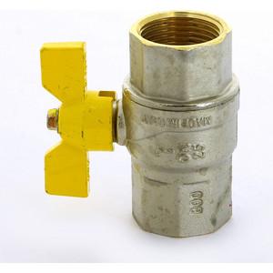 Кран F.I.V. шаровый FUTURGAS газовый 1 ВР (80010101) кран bugatti шаровый угловой oregon 594 1 вр нр с разъемным соединением 5940009