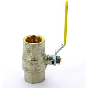 Кран F.I.V. шаровый FUTURGAS газовый 1 ВР (80010100) кран bugatti шаровый угловой oregon 594 1 вр нр с разъемным соединением 5940009