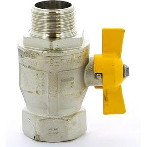 Кран ITAP шаровый BERLIN газовый 1 НР/ВР (073 1') кран bugatti шаровый угловой oregon 594 1 вр нр с разъемным соединением 5940009