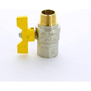 Кран F.I.V. шаровый FUTURGAS газовый 3/4 НР/ВР (80014035) кран шаровый газовый f i v 1 2 вр нр стальн ручка
