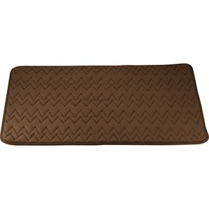 Коврик для ванной Swensa 60х90 см Punto коричневый, Memory foam, полиэстер (SWM-6020-BROWN) soft memory foam neck sleeping pillow massager fiber slow rebound foam home bedding orthopedic pillow memory plus 60 40 11 13