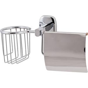 Держатель туалетной бумаги Swensa с крышкой, хром (1504-1) держатель туалетной бумаги keuco elegance с крышкой 11660010000