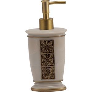 Дозатор для жидкого мыла Swensa Синтра, полирезина, слоновая кость (SWT-4040A) стакан swensa синтра для зубных щеток полирезина слоновая кость swt 4040b